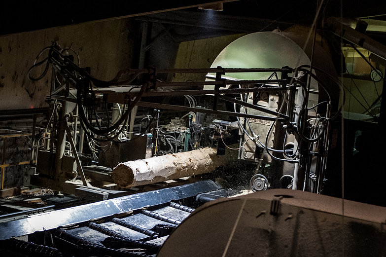 Hedstrom Lumber Mill Saw