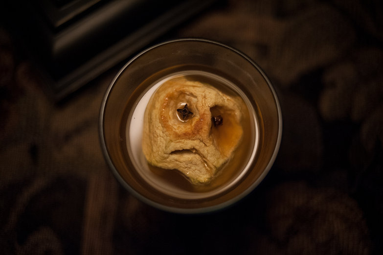 Shrunken Head (Baked Apple)