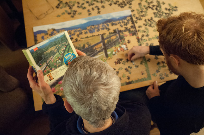 Mark & Tyler Puzzling