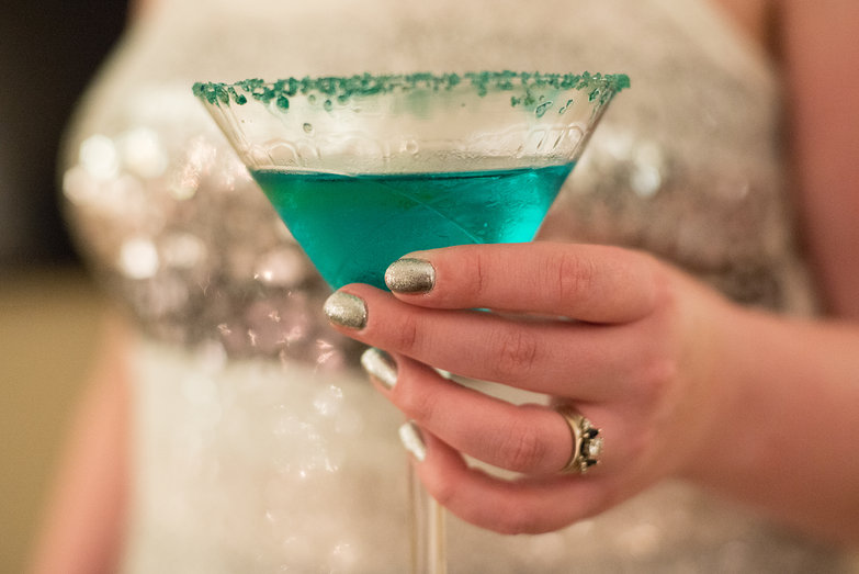 Fancy Turquoise Drink