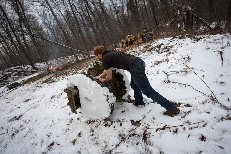 Tyler Rolling Scrap Wood