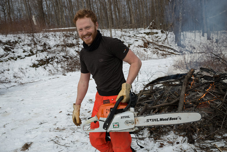 Tyler Chainsawing