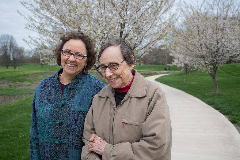 Lisa & Grandma Jeanne