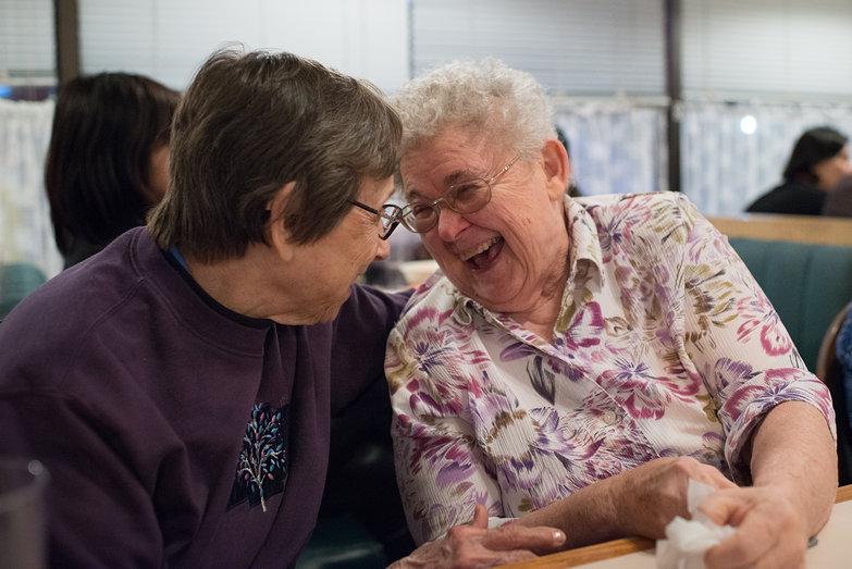 Grandma Jeanne & Grandma Marilyn