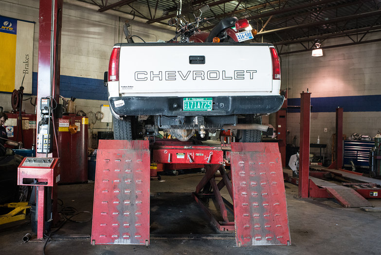 Truck in the Shop