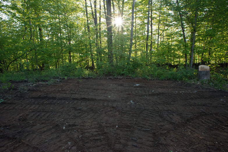 Cottage Site Grading