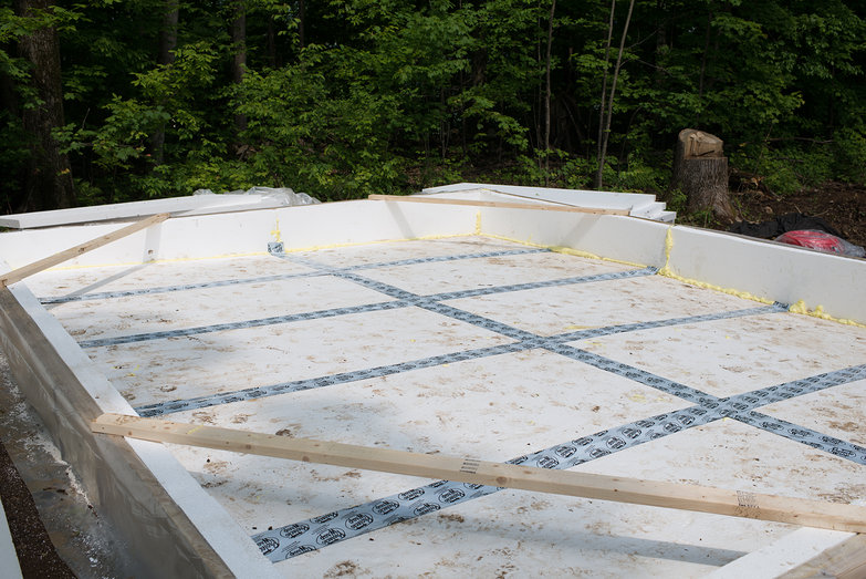 Frost Protected Slab Insulation
