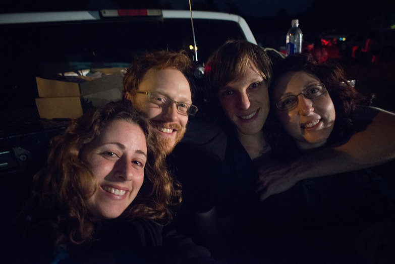 Us w/ Michael & Katherine At Drive in Movie Theater
