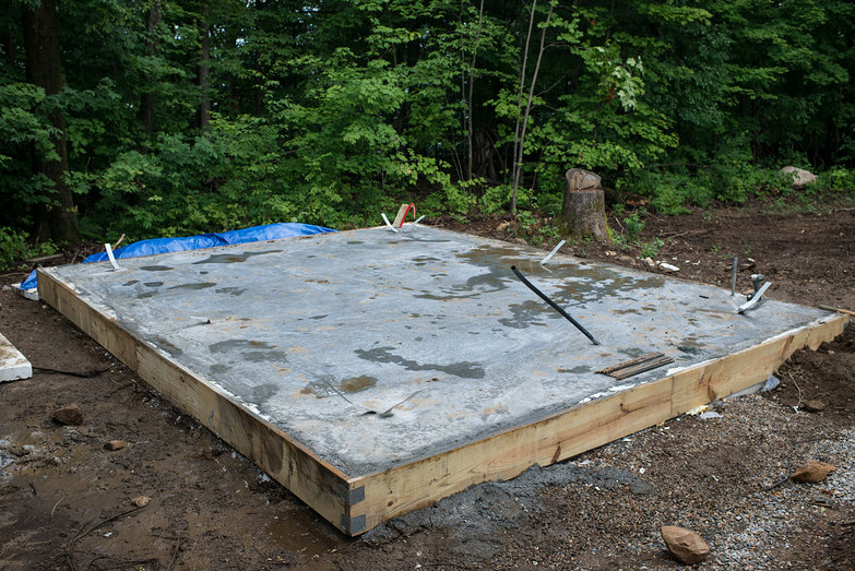 Finished Cottage Foundation Slab
