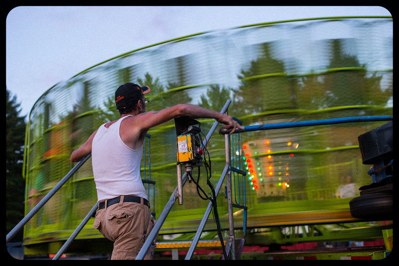 """Ossipee Valley Fair """"Round Up"""" Ride"""