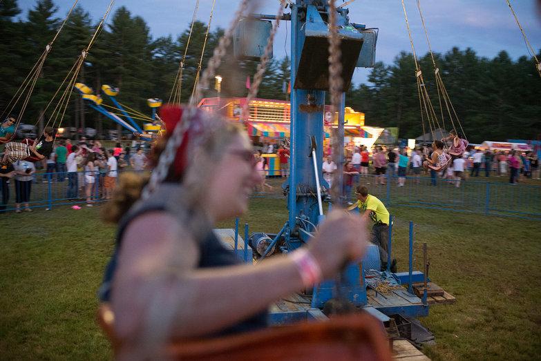 Tara Riding Ossipee Valley Fair Swing Ride