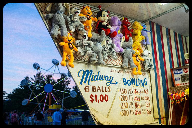 Ossipee Valley Fair Skee Ball
