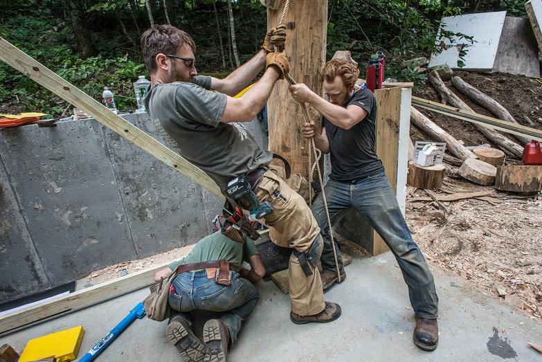 Trent & Tyler Balancing Grindbygg Bent