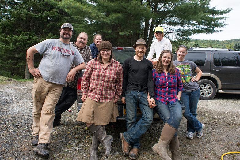 2013 Cider Pressing Crew