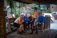 Sofia Giving Night Dive Briefing