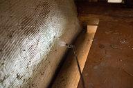 Spraying Plaster Wall
