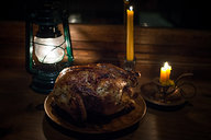 Roasted Chicken by Candlelight