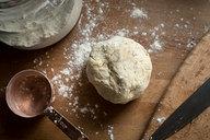 Sourdough Cracker Dough