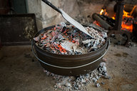 Adding Coals to top of Dutch Oven