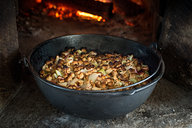 Stuffing Baked in Hearth Oven
