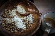 Mixing Dough for Low Carb Hob Nob Cookies